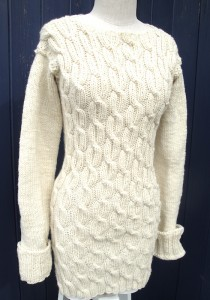Amy's sweater - front view